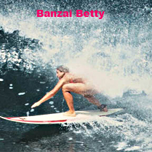 Banzai Women's Pipeline Championships, the first ever women's surfing